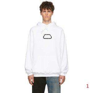Patrón Balxxxxga para hombre sudaderas Cartas de bloqueo moda Pullover Niños de moda Hiphop Streetwaer 20ss impresión de las mujeres la camiseta S-2XL