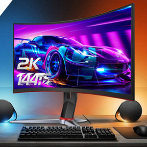 27in 144Hz ESCHE 2K ULTRA hd LCD COMPUTER monitor curved desktop display screen