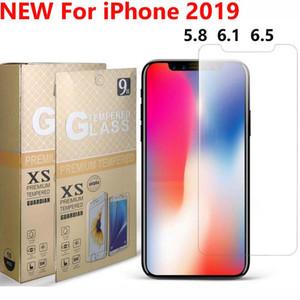 NOUVEAU Verre Trempé Téléphone Protection d'écran pour iPhone 12 11 PRO MAX IPHONE XS X XR XS-MAX 5 6 7 8 Plus 6s Samsung A51 A71 A01 5G de base