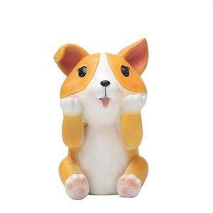 Holder Casa Puppy Dog degli occhiali della resina regalo Display Stand Carino Fermi animali