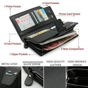 Leather Men Clutch Bag Handbag Stowing Tidying Wallet bag For E46 E52 E53 E60 E90 E91 E92 E93 F30 F20 F10 x6 1 2 3 Series