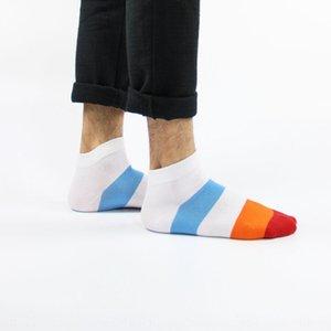 Color Matching и хлопок мужские спортивные носки / осень Интернет магазин подарков мужские середины икры носки модные носки 1zAsc