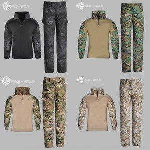 frog infantil Hanye G3 sportswear sapo sportswear terno manga longa roupas de homens e de forças especiais das mulheres física CP camuflagem clothi