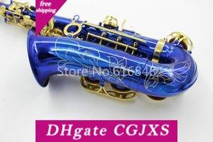 Yanagisawa Un -992 Mib Tune Alto Saxophone blu unica Lacca Corpo Oro lacca Tasto E Studenti Sax Musical Instrument spedizione gratuita