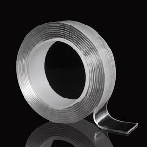 Nano Волшебное Скотч двухсторонний прозрачный Traceless многоразовый клейкая лента для домашнего офиса автомобиля Открытый Decor 2016 JK2008XB