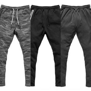 Muscle estetica fratelli sportivi camuffamento di fitness pantaloni tuta uomini tuta Abbigliamento da running abbigliamento pantaloni di formazione