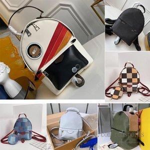 11 Стиль Конструктор L Рюкзак Женщины Палм-Спрингс Мини BRAND натуральная кожа детей рюкзаки женщин печати Mini рюкзак 2020 новый MVy7 #