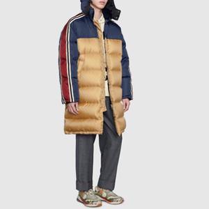 20FW Obscure Nuptse vers le bas long Vestes hiver chaud Dobby extérieur Montagne Manteaux coupe-vent Pain Down Jacket Rue Outwear HFLSYRF098