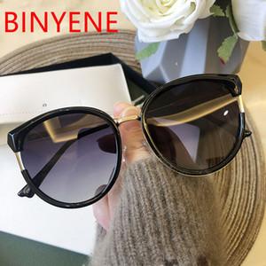 선글라스 여성용 고양이 눈 음영 한국 스타일 편광 된 태양 안경 2021 귀여운 섹시한 숙녀 안경 UV400