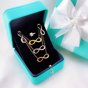 For Women Love 8 Character Necklaces Stainless Steel Endless Pendant Friendship Necklace Jewelry Best Friend Gift