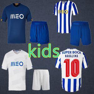20 21 FC Porto Fußball-Trikot PEPE SHOYA 2020 2021 SOARES Marega ALEX TELLES zu Hause weg 3. Fußball-Hemd Männer Kinder Kit Trikots