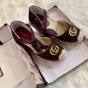 A02 최고 여성 패션 어부의 신발 고품질 바오 터우 샌들은 통기성 플랫폼 경량 여성의 신발은 감기는 크로스 타이를 짜