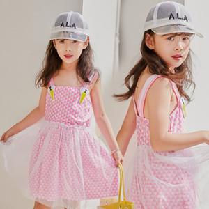 u1YiZ Yaz sevimli Princess' NT865316 yeni küçük prenses etek çocuk kız mayo Korece mayo elbise