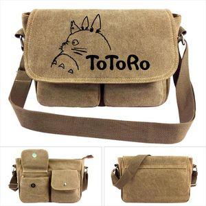 Anime Mon voisin Totoro Messenger épaule toile Sac Cartoon adolescents Tonari no Sacs école Satchels Totoro Femmes Sacs à main