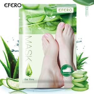 1pair Dead Skin Remover Befeuchten Fußmaske Peeling Füße Maske Socken für Pediküre Peeling Baby-Fuss-Maske Feet 0080 Peeling