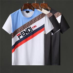 2020 мужских дизайнера футболки роскошных одежды письма Печать тенниски хип-хоп тройник Летней мода футболка Casual Street Женщины Мужчины S тройник футболка