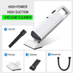 New Powerful Cordless Car Vacuum Cleaner Portable Handheld 120W Cordless Wet Dry Use Rechargeable Home Car Vacuum Cleaner tool