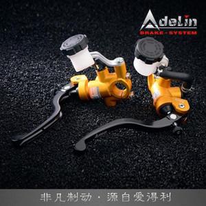 Adelin PX-1 16 * 18MM freio e embreagem Cilindro Mestre Universal 16 mm de diâmetro do pistão da motocicleta hidráulico de embreagem freio bomba 0KLv #