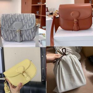 2020 Neugeborenen DIOSS BOBBY Luxus Mädchen der Frauen Designer klassische Klappe Tasche Monogramme Messenger Schultertasche Gürteltasche diagonale Handtasche MvJy #