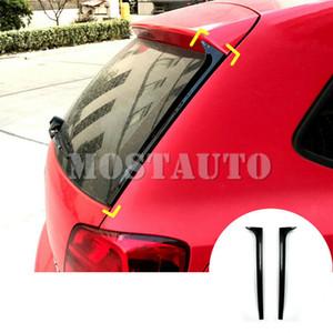 لفولكس واجن فولكس فاجن بولو MK5 2X النافذة الخلفية جناح جانب تغطية الجناح تريم 2011-2017