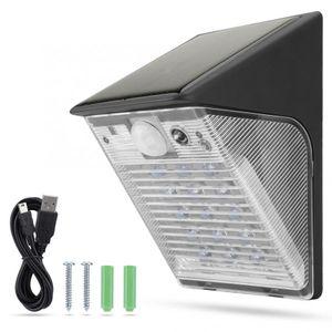 HD 1080P WiFi Wireless Outdoor Yard LED Lamp Solar Power IP Camera IP65 Waterproof Security Surveillance Camera