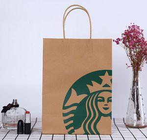 Das neueste Starbucks Tasche 27.5X20X11CM Größe, Verpackung Geschenkbeutel Starbucks Lebensmittelverpackungsbeutel, freies Verschiffen