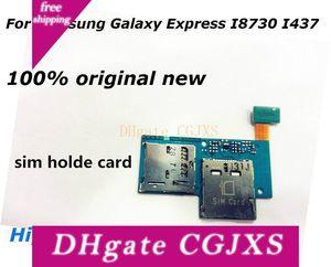 Carte SIM Micro Sd carte mémoire Porte-fente Câble Flex pour Galaxy Express I8730 I437