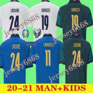 2020 l'équipe nationale de football ITALIE Italie INSIGNE BELOTTI Verratti KEAN BERNARDESCHI Les hommes et les uniformes d'enfants chemise de football