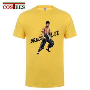 Novos 2017 Moda Bruce Lee Projeto UFC T camisa dos homens de alta qualidade engraçado MMA T-shirt de verão Jeet Kune Do Tees para os fãs de Kungfu masculinos