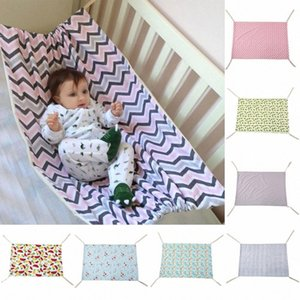 Baby Hammock Baby Swing Infant Bed Toddler Sleeping Bed Detachable Portable Nursery Bed Safety Fashion Newborn Crib Hammock YFA233 rxBM#