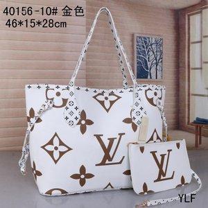 2020 Yeni Ücretsiz 2 parça nakliye Büyük Bez Debriyaj Çanta Omuz Çantaları Messenger Kadın okul çantası SICAK setLVLOUISVUITTON