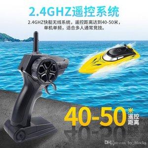 2.4G ad alta velocità RC Racing Boat Remote barche di Mini Electric sport Fast Ship Bambini Bambini Giocattoli pesca Gifts