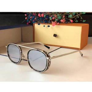 New ladies designer sunglasses Z2340 round frame luxury configuration top quality personality outdoor glasses with UV400 lens