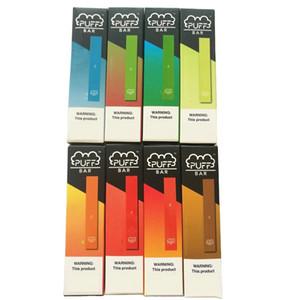 New Puff Bar Einwegvorrichtung Pod Vape Pen Starter Kit 280mAh Akku 1,3 ml Kartuschen Puffbar E Zigaretten Vape mit Sicherheitscode