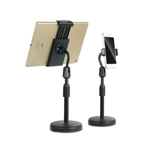 Multi-functional Retractable Mobile Phone Stand For Live Broadcast Desk Table Clip Bracket Table Mount Cell Phone Support Holder