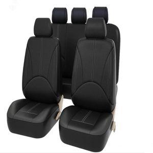 9шт / Set Мода PU Чехлы Кожа Автокресло пылезащитные Сиденье протекторы Универсальный Полный Covers для Авто Автомобили