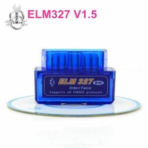 Super Mini Elm-327 Bluetooth OBD2 V1.5 Elm 327 V 1.5 Android Adapter Car Scanner OBD 2 Elm327 OBDII Auto Diagnostic Tool Scanner