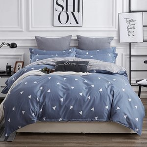 Bedding Set Twin Full Queen King Size Single Bed Duvet Cover Sets Print Bed Linen Quilt Covers XF755-7