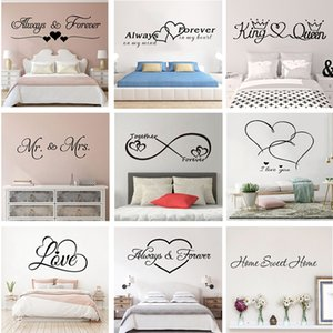Romantic love wall sticker for home bedroom decoration livingroom decor stickers wall decals removable Mural decoration HL222
