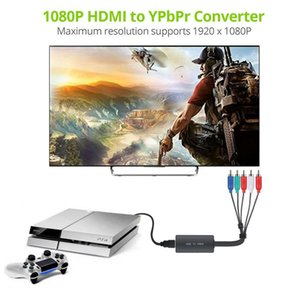 HDMI To 5RCA RGB Component Video YPbPr Converter Adapter+ R L Audio For Xbox Support Dropship