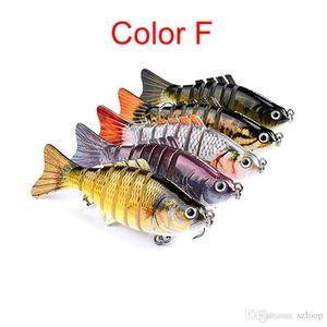 Fishing Lures Wobblers Swimbait Crankbait Hard Bait Artificial Fishing Tackle Lifelike Lure 7 Segment 10cm 15.5g Epacket