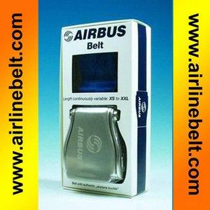 Present box Pack Autozubehör Flugzeug Schnalle AIRBUS Schwarz Flugzeug Flugzeug Flugzeug Airline Seat Belt Extender Verlängerungsband DEOT #