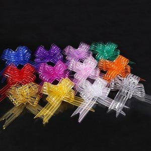 Garland Çekme Çiçek Şerit Düğün Doğum Günü Partisi Decor 77 Packaging Dantel Yapay Çiçekler Hediye Paketi Sevgililer Günü Hediye