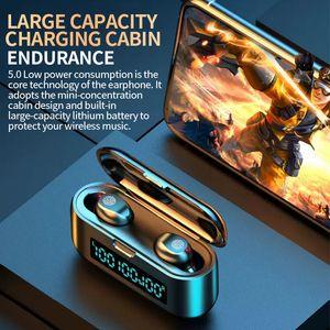 Yeni Lüks Mini IP8 Şarj Kutusu ile Kulaklık Durumda Kulaklık Kulaklık Bluetooth Kablosuz 4.2 müzik Ephone Iphone X 8 ARTı Xiaomi