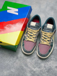 Dunk Low SB SP Lemon Wash CZ9747-900 Grey Black Skate Board Shoes New Mens 2020 Designer Sneakers Mulheres do desenhador de moda Formadores Chaussures