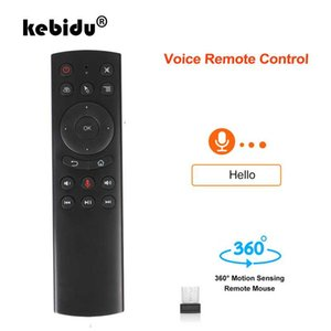 G20 Remote Control 2.4G Wireless Air Mouse G10 Gyro Voice Control Sensing Remote IR Learning For PC TV Box