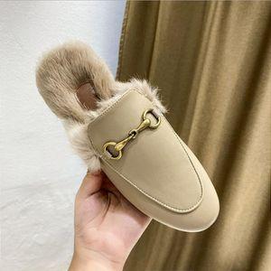 chaussures Newluxe occasionnels glisse femmes mens designer de fourrure, des pantoufles, Slipper fumeurs étoile en cuir, la mode diapositives luxe B93