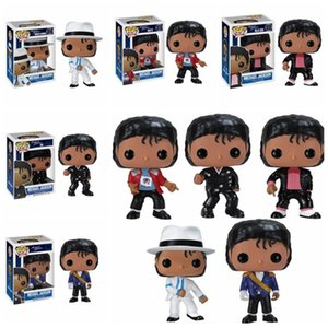 Michael Jackson Action Figure Anime Figure Dolls BEAT IT BILLIE JEAN BAD Vinyl Collection Model Kids Toys Boy Birthday Gift