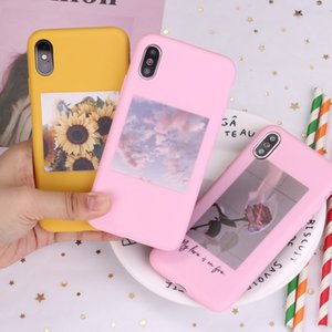 Flower Rose Sunflower Suitable For IPhone11 X Mobile Phone Shell Frosted Apple 11pro Soft Shell Tpu Protective Cover