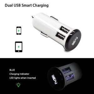 CgjxsDual USB Car Charger 5v 3 .1a Fast Car carregamento Adaptador Universal Para Iphone 8 7 Samsung Tablet PC Mp3